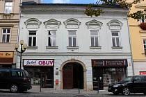Bývalý Dům dětí u radnice v Šumperku.