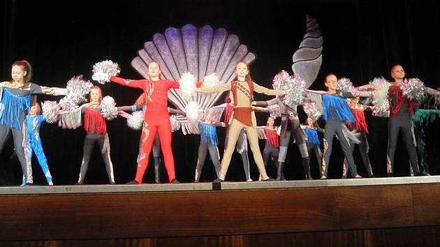 Jubilejní 15. Wintershow ukázala zábřežské děti v nejrůznějších druzích tance a pohybu.