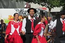 Snímky ze čtvrtečního programu Folklórního festivalu v Šumperku.