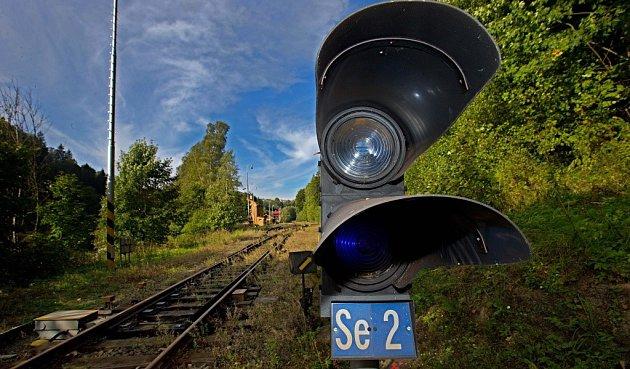 Opuštěné nádraží - Branná.