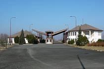 Bývalý hraniční přechod v Bílém Potoku u Javorníku.