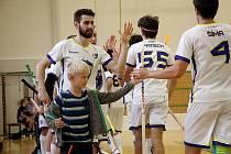 Hráči Asperu se radují po gólu. Ilustrační foto