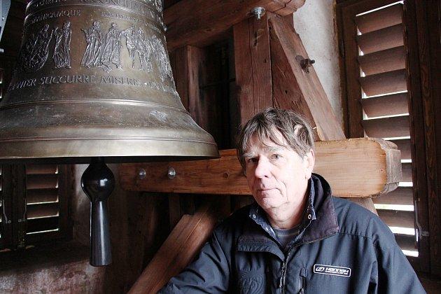 Kostelík v Herolticích má nový zvon svatý Václav.