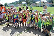 Dvě stovky dětí se zúčastnily akce s názvem Můj první gól. Měly zde možnost poznat nejen fotbal, ale i další sporty.