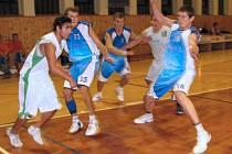 Šumperk (bílé dresy) proti Jičínu