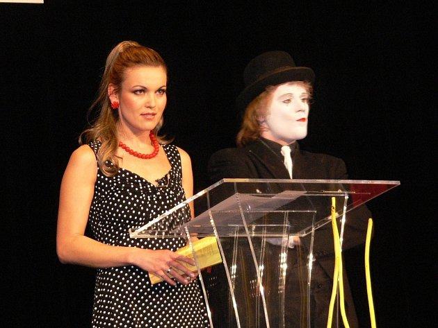 Snímek z předávání Cen města Šumperka za rok 2010.