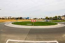 V úterý 19. října byl v Mohelnici oficiálně otevřen kruhový objezd.