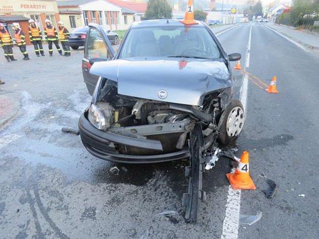 Nehoda v Jeseníku