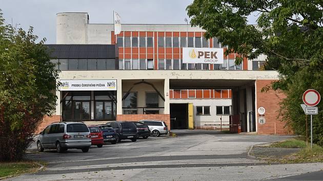 Pekárna v lokalitě Skřivánčí dvůr v Šumperku.