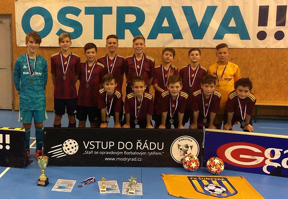FK Šumperk U13 na turnaji v Ostravě