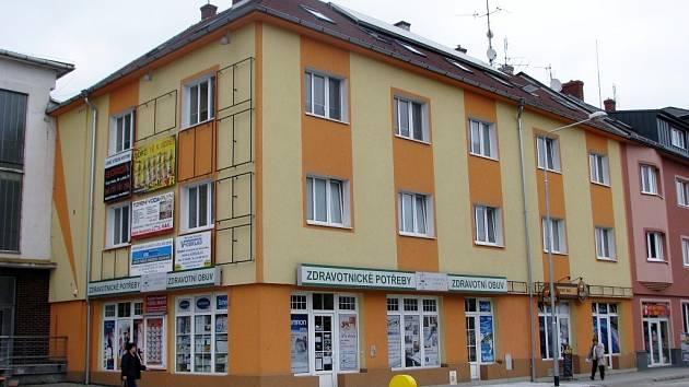 Předmět sporu, dům Ivana Vavříka v Zábřehu.