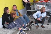 Šumperští bezdomovci