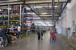 Den otevřených dveří v podniku Siemens v Mohelnici.