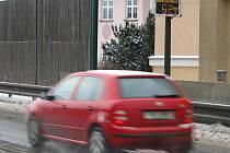 Na obchvatu v Jeseníku řidiči často překračují povolenou rychlost.
