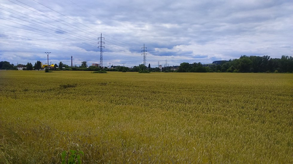 Průmyslová zóna v Zábřehu, v níž se má nacházet závod firmy Wanemi.