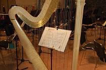 harfa ilustrační