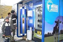 Nový automat na mléko v Zábřehu
