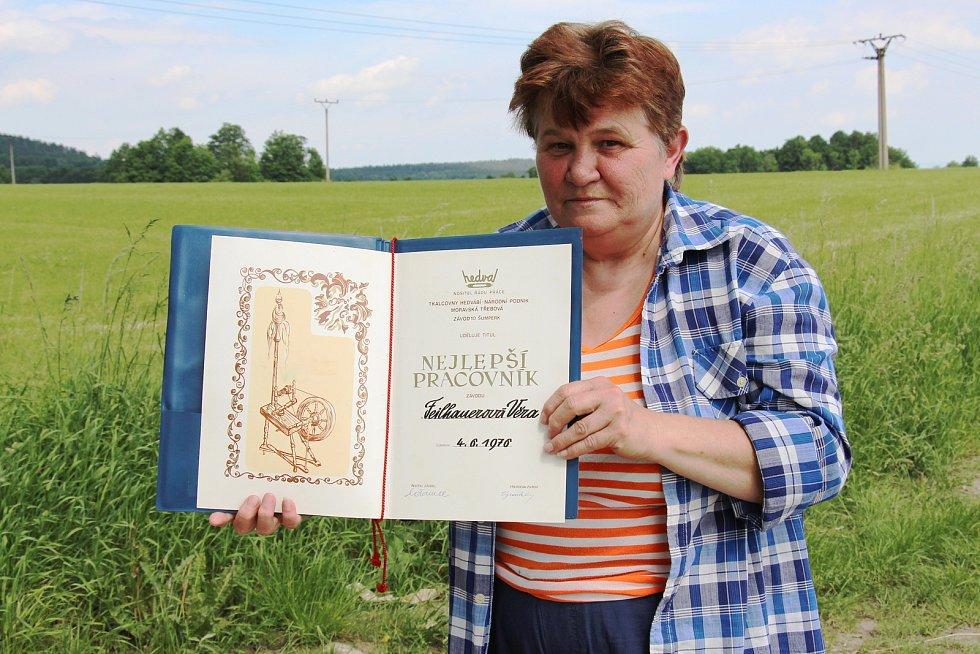 Věra Lukešová ze Supíkovic pracovala v šumperské Hedvě. Má na ni ty nejlepší vzpomínky.