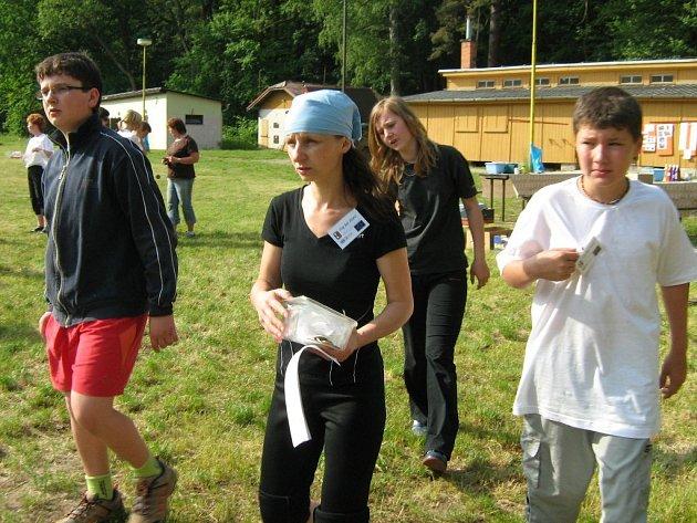 Účastníci tábora ve Velké Kraši