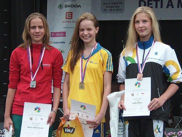 Leona Lysáková (uprostřed).