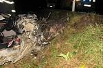Tohle bylo opravdu před nehodou u Štítů auto, konkrétně audi