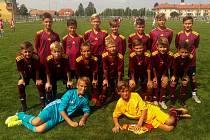 Šumperští fotbalisté kategorie U13.