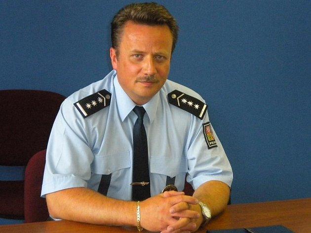 Ředitel územního odboru Policie České republiky Šumperk Michal Harciník
