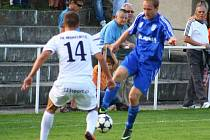 Mohelnice versus Petrovice (modré dresy).
