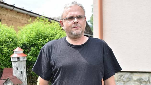 Rostislav Obzina, puškař ze Supíkovic.
