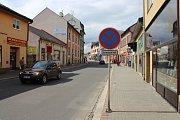 Ulice Žižkova v Zábřehu