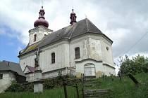 Kostel svaté Maří Magdaleny v Pustých Žibřidovicích.