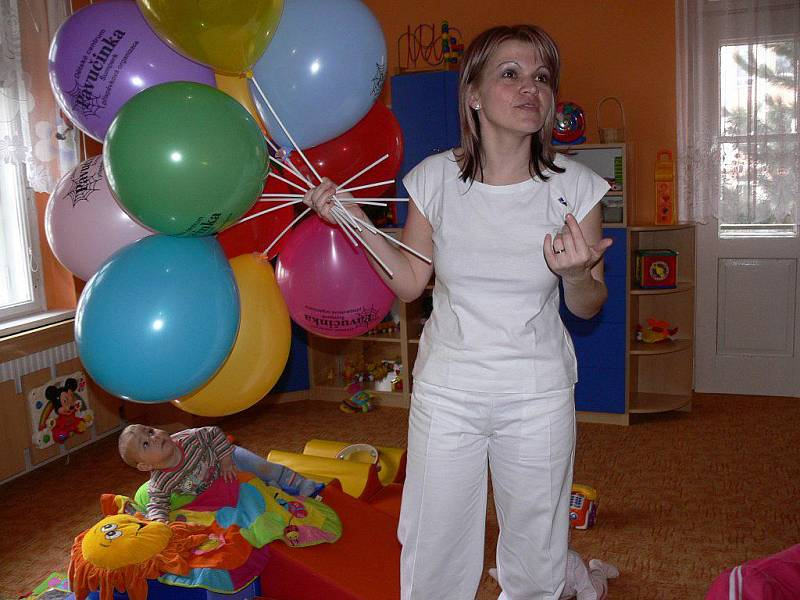 Šumperské Dětské centrum Pavučinka  oslavilo své výročí dnem otevřených dveří