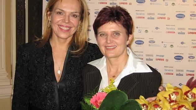 Aleně Hlásné blahopřála i Dagmar Havlová