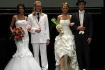 Stovky lidí přilákal svatební veletrh, který se v pátek a v sobotu konal v Domě kultury v Šumperku.
