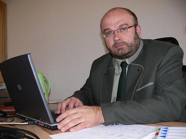 Pavel Indra, od října nový ředitel Krajského ředitelství Lesů ČR
