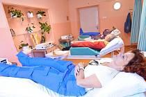Novou metodu lymfodrenáže nabízejí zdravotníci Šumperské nemocnice