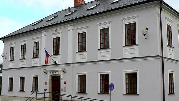 Radnice v Bludově. Ilustrační foto