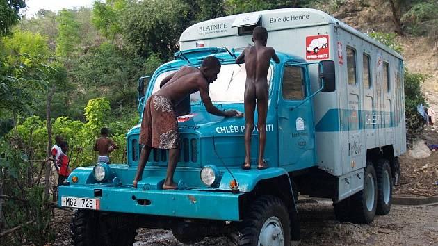 Z expedice zábřežského filmaře na Haiti