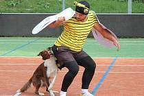 Závody v dog dancingu v sobotu 1. října v Dolním Bušínově u Zábřehu.
