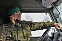 Desátník Rostyslav Hošek ze Skupiny kybernetických sil a informačních operací Olomouc