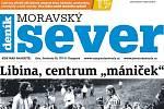 Týdeník Moravský sever v úterý 27. srpna.