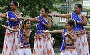 Indický soubor RANGSAGAR GROUP na folklorním festivalu v Šumperku