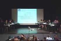 Snímek ze středečního zasedání zábřežského zastupitelstva