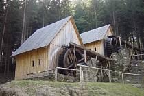 Hornický skanzen Zlatorudné mlýny u Zlatých Hor na Jesenicku.