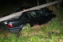 Nehoda nedaleko Písečné