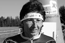 Mária Chmelařová. Snímek pochází z loňského mistrovství České republiky klubů v orientačním běhu.
