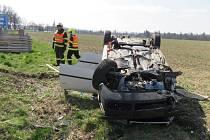 Nehoda u Mohelnice 29. 3. 2019.