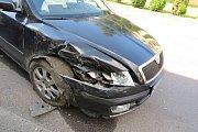 Nehoda v Hanušovicích 23.8.2017