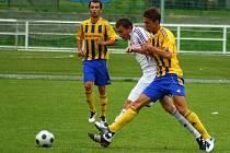 Pohárový zápas Mohelnice versus Uničov (žluté dresy)