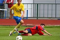 Šumperk versus Mikulovice (červené dresy)-